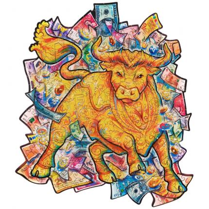 Пазл «Процветающий бык»