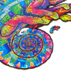 Пазл «Радужный Хамелеон»
