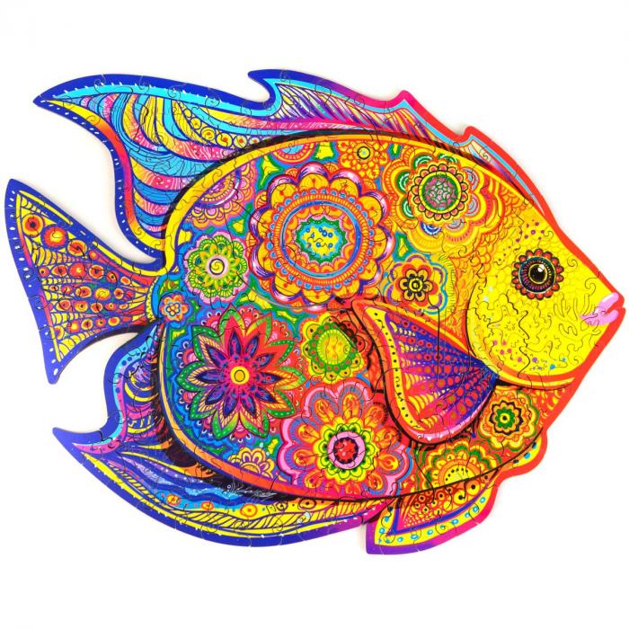 Пазл «Сияющая рыбка»