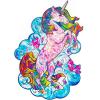 Пазл «Вдохновляющий Единорог»
