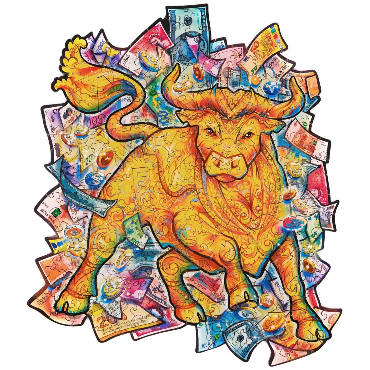 Пазл Процветающий бык