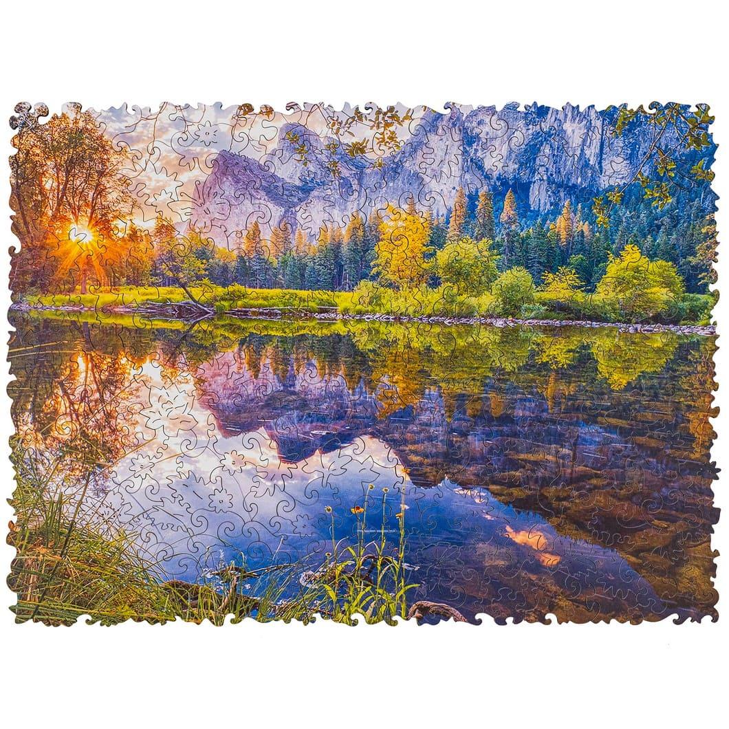 Пазл Лесное озеро
