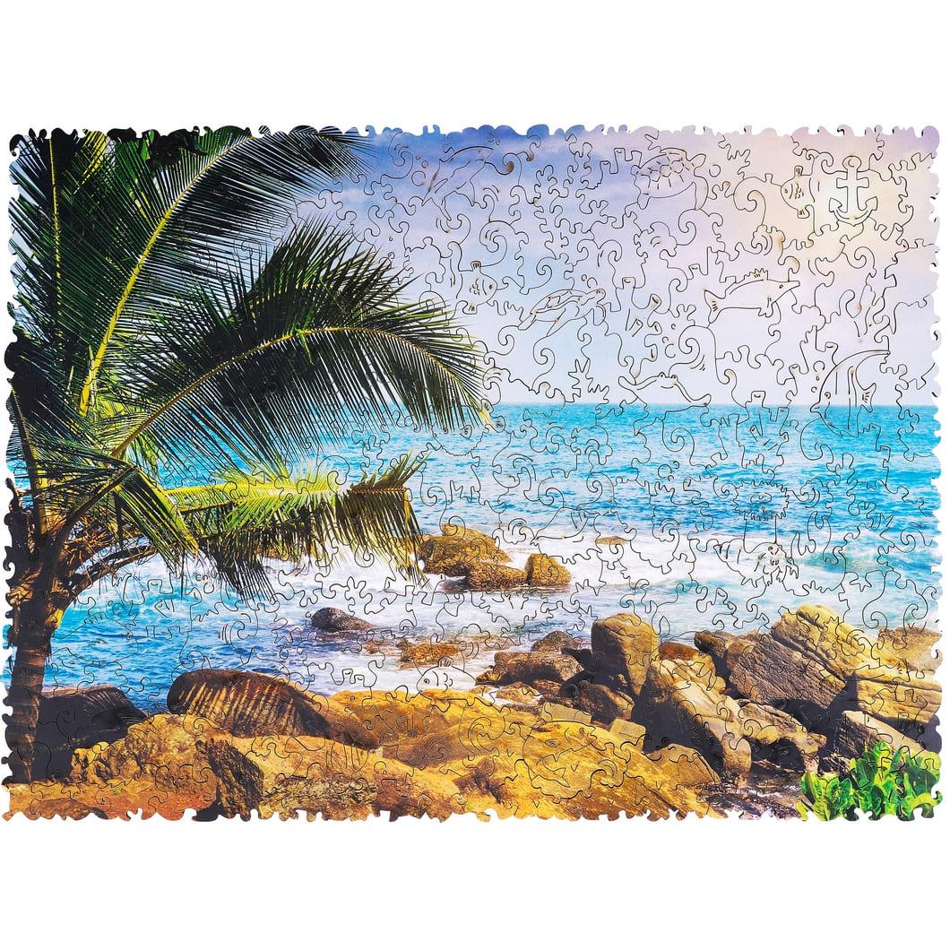 Пазл Тропический Пляж